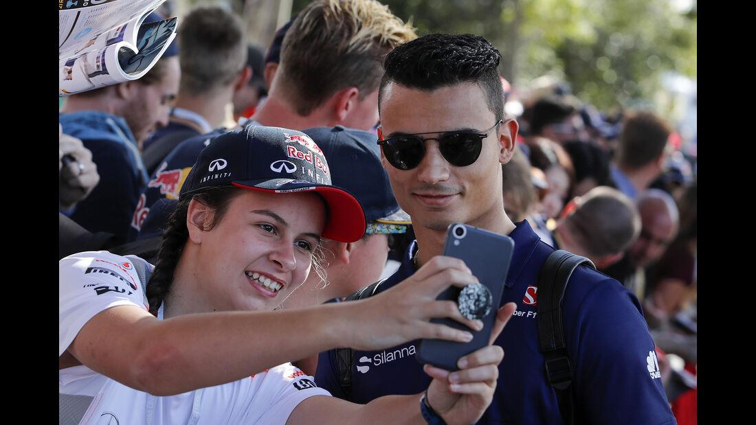 Pascal Wehrein - Sauber - GP Australien - Melbourne - 24. März 2017