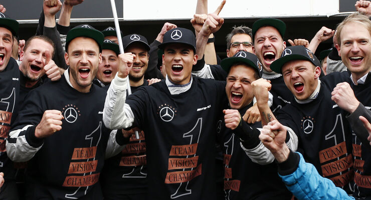 Pascal Wehrlein - DTM Hockenheim - 2015