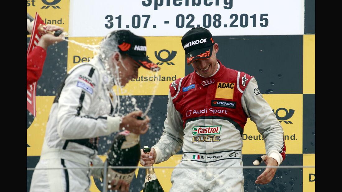 Pascal Wehrlein - Edoardo Mortara - DTM - Spielberg - 01.08.2015