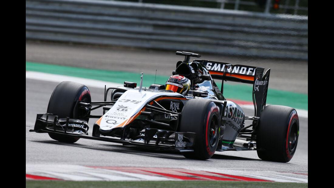 Pascal Wehrlein - Force India - Formel 1-Test - Spielberg - 24. Juni 2015