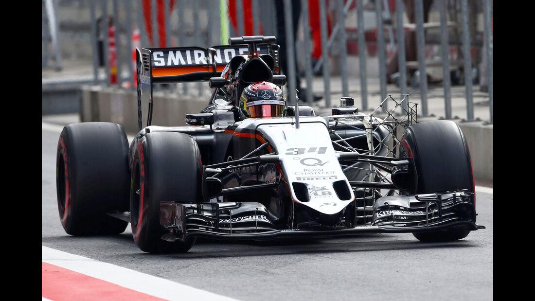 Pascal Wehrlein - Force India - Formel 1 - Test - Spielberg - 24. Juni 2015