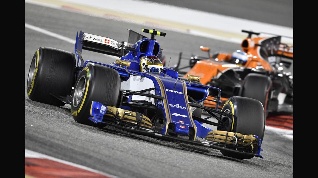 Pascal Wehrlein - Formel 1 - GP Bahrain 2017