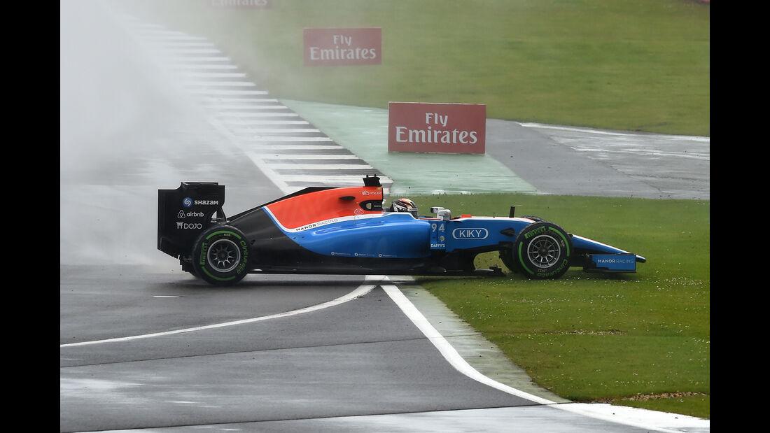 Pascal Wehrlein - Formel 1 - GP England 2016