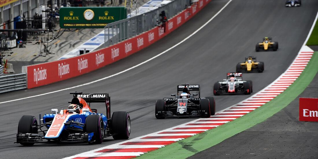 Pascal Wehrlein - Formel 1 - GP Österreich 2016