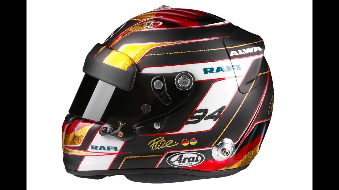 Pascal Wehrlein - Formel 1 - Helm - 2016
