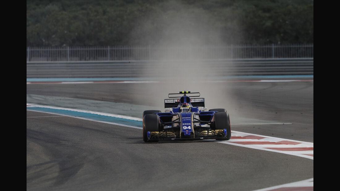Pascal Wehrlein - GP Abu Dhabi 2017