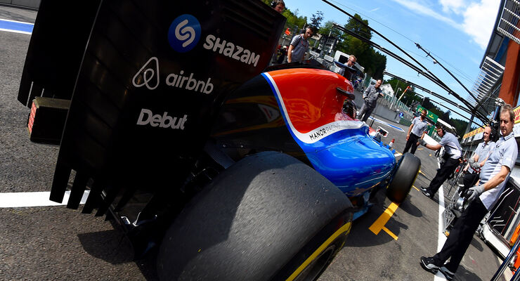 Pascal Wehrlein - GP Belgien 2016