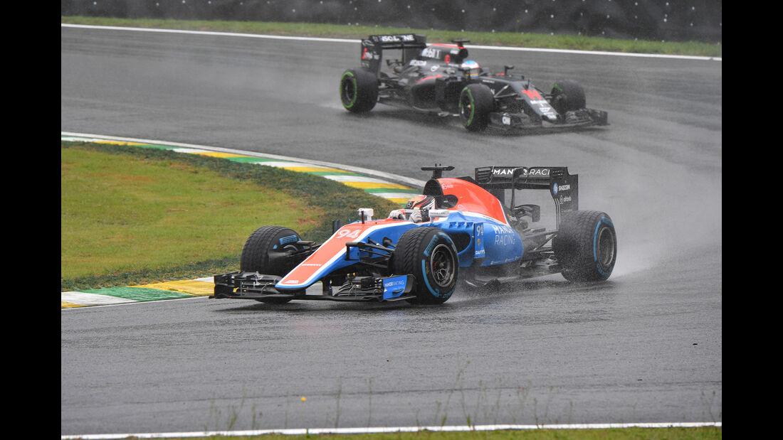 Pascal Wehrlein - GP Brasilien 2016