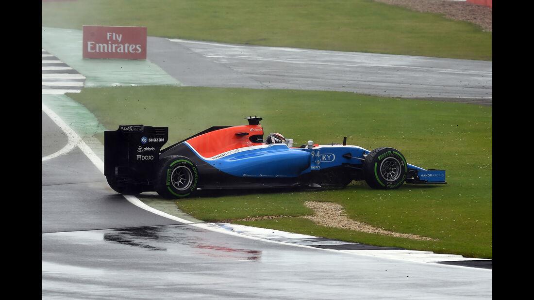 Pascal Wehrlein - GP England 2016