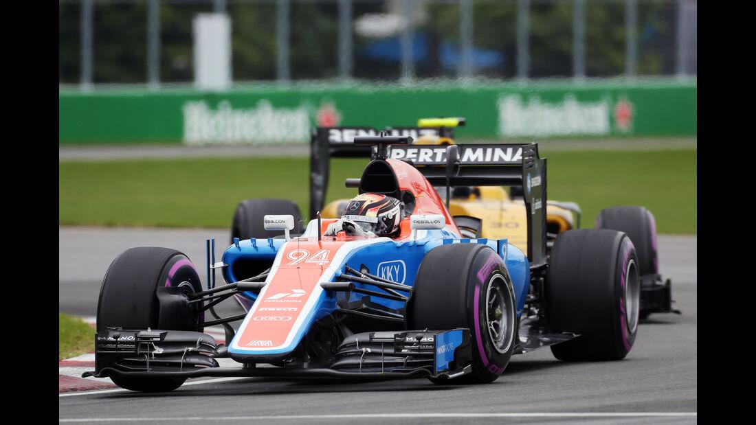 Pascal Wehrlein  - GP Kanada 2016