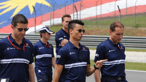 Pascal Wehrlein - GP Malaysia - Sepang - Formel 1 - Donnerstag - 28.9.2017