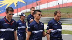 Pascal Wehrlein - GP Malaysia - Sepang - Formel 1 - Donnerstag - 28.9.2017