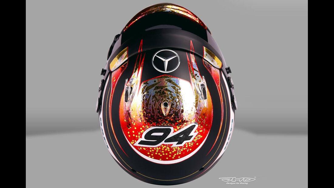 Pascal Wehrlein - Helm Monaco 2016