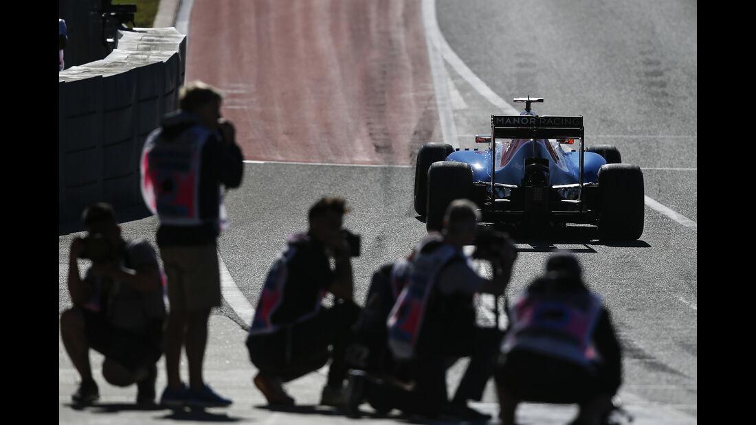 Pascal Wehrlein - Manor - Formel 1 - Austin - GP USA - 22. Oktober 2016