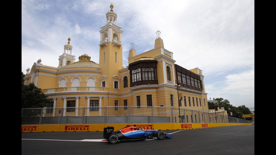 Pascal Wehrlein - Manor - Formel 1 - GP Aserbaidschan - Baku - 17. Juni 2016