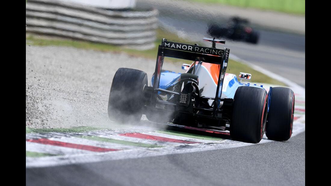 Pascal Wehrlein - Manor - Formel 1 - GP Italien - Monza - 3. September 2016