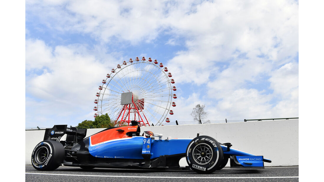 Pascal Wehrlein - Manor - Formel 1 - GP Japan - Suzuka - Freitag - 7.10.2016