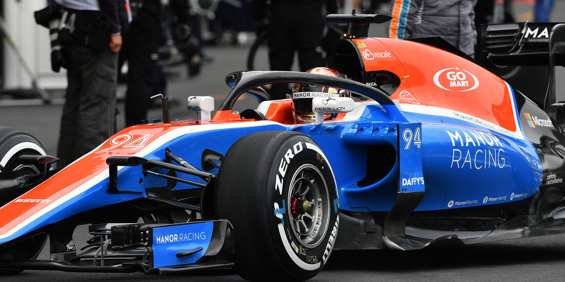 Pascal Wehrlein - Manor - Formel 1 - GP Mexiko - 28. Oktober 2016