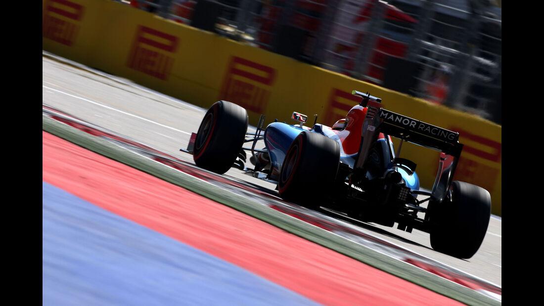 Pascal Wehrlein - Manor  - Formel 1 - GP Russland - 29. April 2016