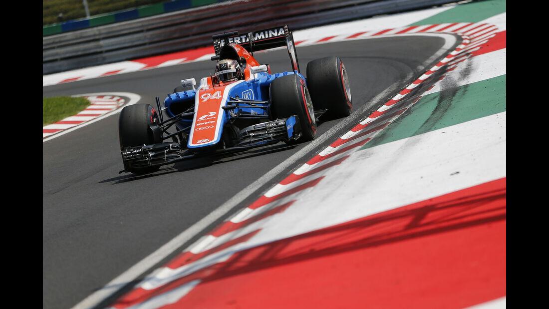 Pascal Wehrlein - Manor - Formel 1 - GP Ungarn - 24. Juli 2016