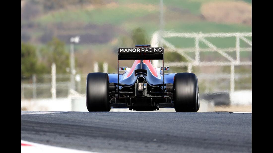 Pascal Wehrlein - Manor - Formel 1-Test - Barcelona - 19. Februar 2015