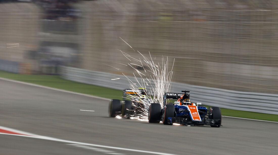 Pascal Wehrlein - Manor - GP Bahrain 2016