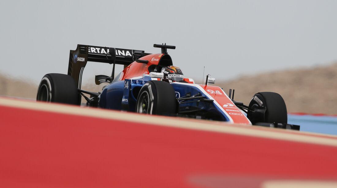 Pascal Wehrlein - Manor - GP Bahrain - Formel 1 - 1. April 2016