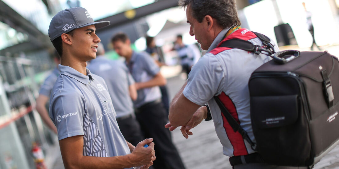 Pascal Wehrlein - Manor - GP Brasilien 2016 - Sao Paulo - Donnerstag - 10.11.2016