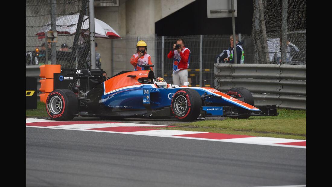Pascal Wehrlein - Manor - GP China 2016 - Qualifying
