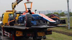Pascal Wehrlein - Manor - GP China 2016 - Shanghai - Qualifying - 16.4.2016