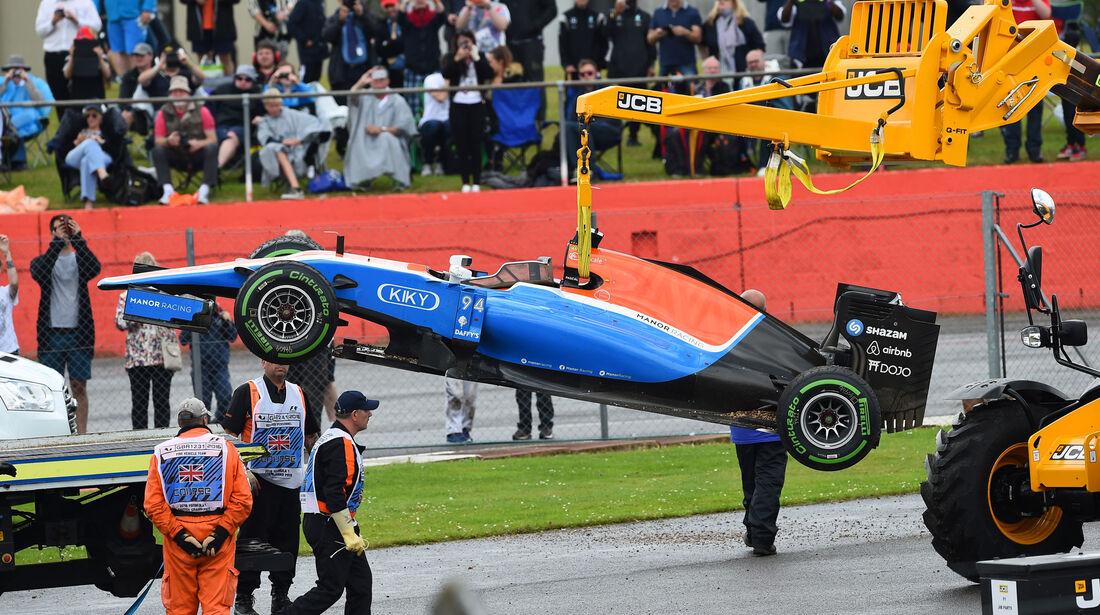 Pascal Wehrlein - Manor - GP England 2016 - Silverstone - Rennen