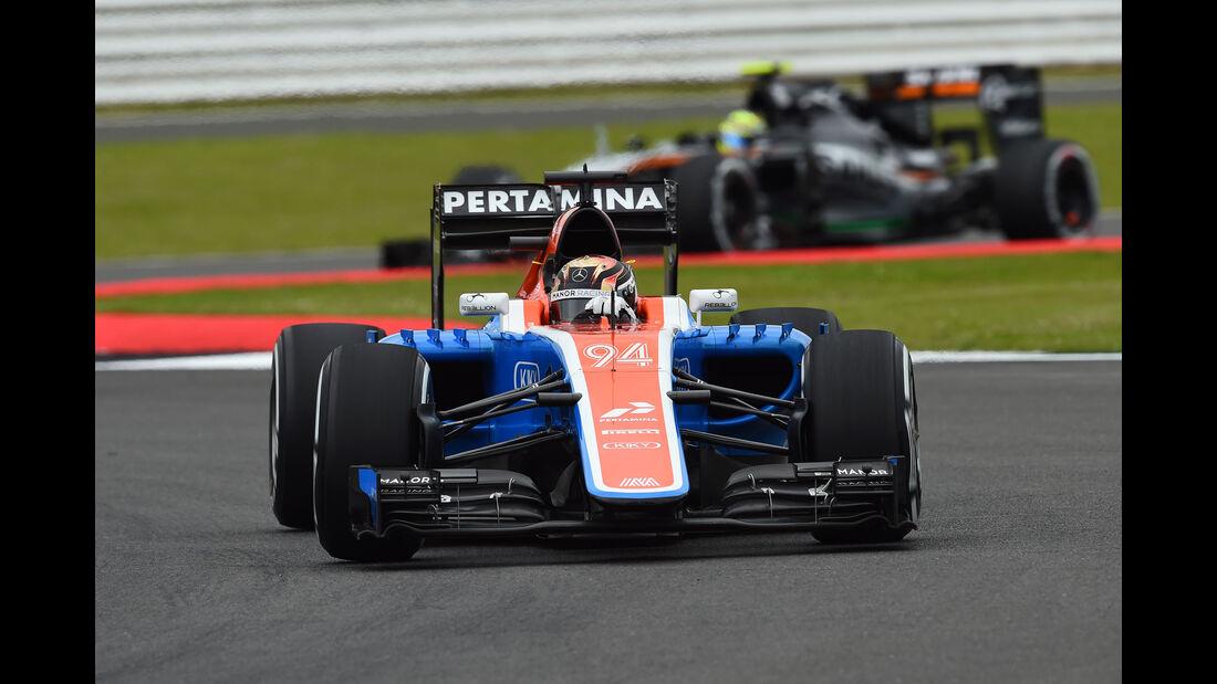 Pascal Wehrlein - Manor -  GP England - Silverstone - Formel 1 - Freitag - 8.7.2016