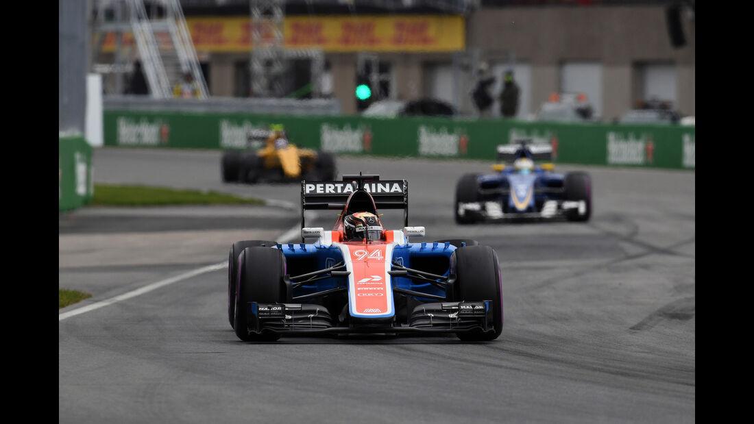 Pascal Wehrlein - Manor - GP Kanada 2016 - Montreal