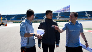Pascal Wehrlein - Manor - GP Russland 2016 - Donnerstag