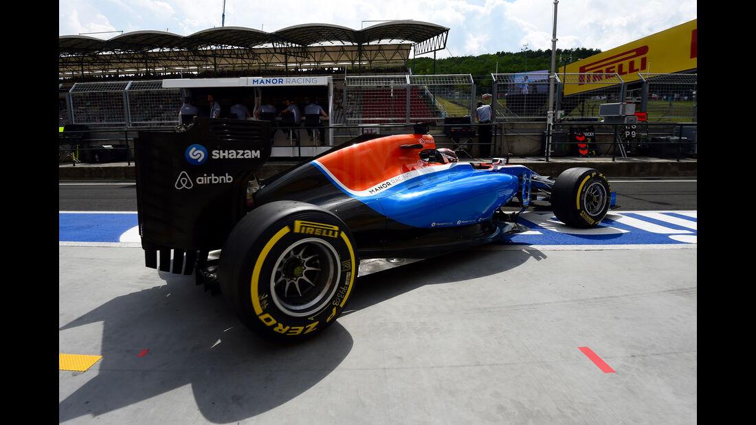 Pascal Wehrlein - Manor - GP Ungarn - Budapest - Formel 1 - 22. Juli 2016