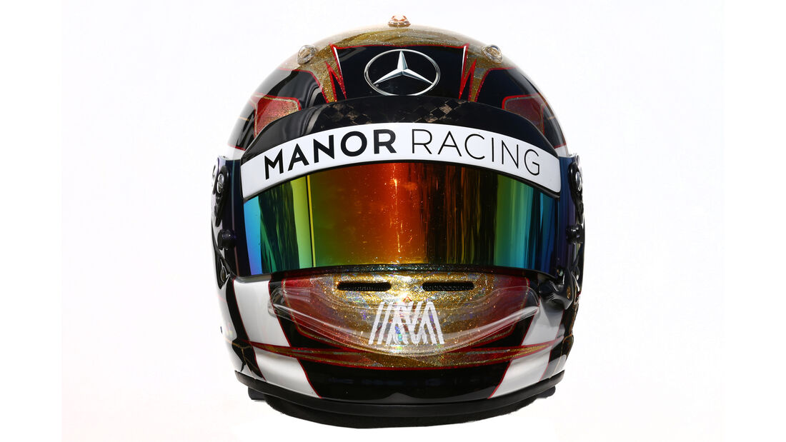Pascal Wehrlein - Manor - Helm - Formel 1 - 2016