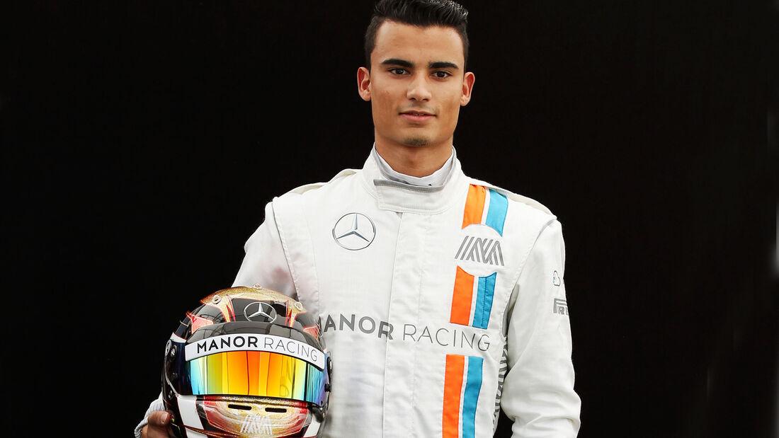 Pascal Wehrlein - Manor - Porträt - Formel 1 - 2016
