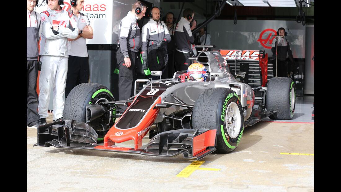 Pascal Wehrlein - Manor Racing - Formel 1-Test - Barcelona - 22. Februar 2016