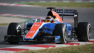 Pascal Wehrlein - Manor Racing - Formel 1-Test - Barcelona - 23. Februar 2016