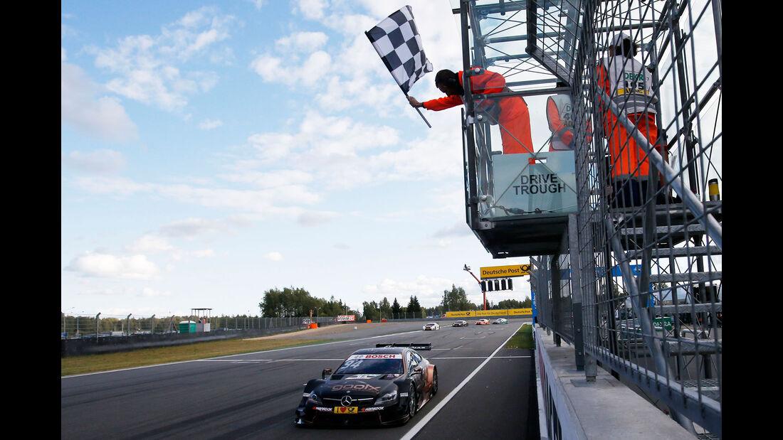 Pascal Wehrlein - Mercedes - DTM - Moskau - 1. Rennen - Samstag - 29.08.2015
