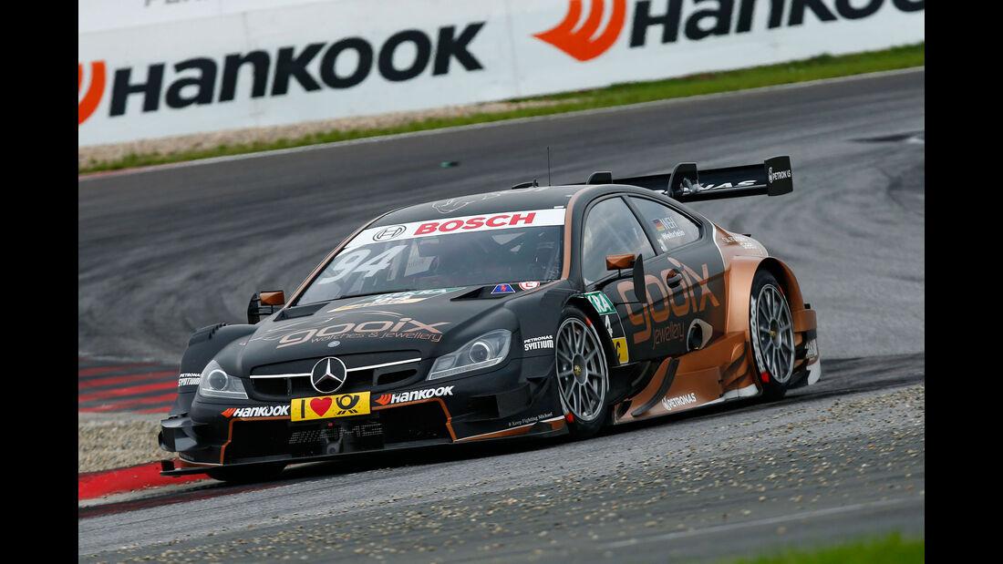Pascal Wehrlein - Mercedes - DTM - Oschersleben - 2. Rennen - Sonntag - 13.9.2015