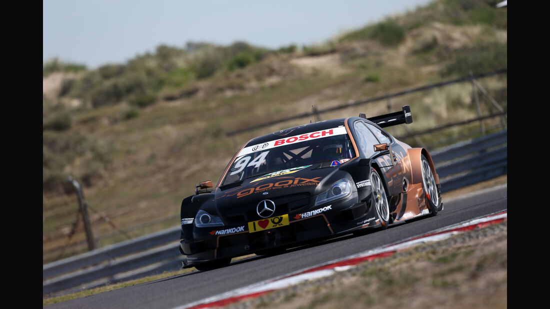 Pascal Wehrlein - Mercedes - DTM - Zandvoort - Samstag - 11.7.2015