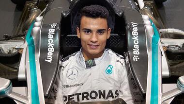 Pascal Wehrlein - Mercedes - F1 - 2014