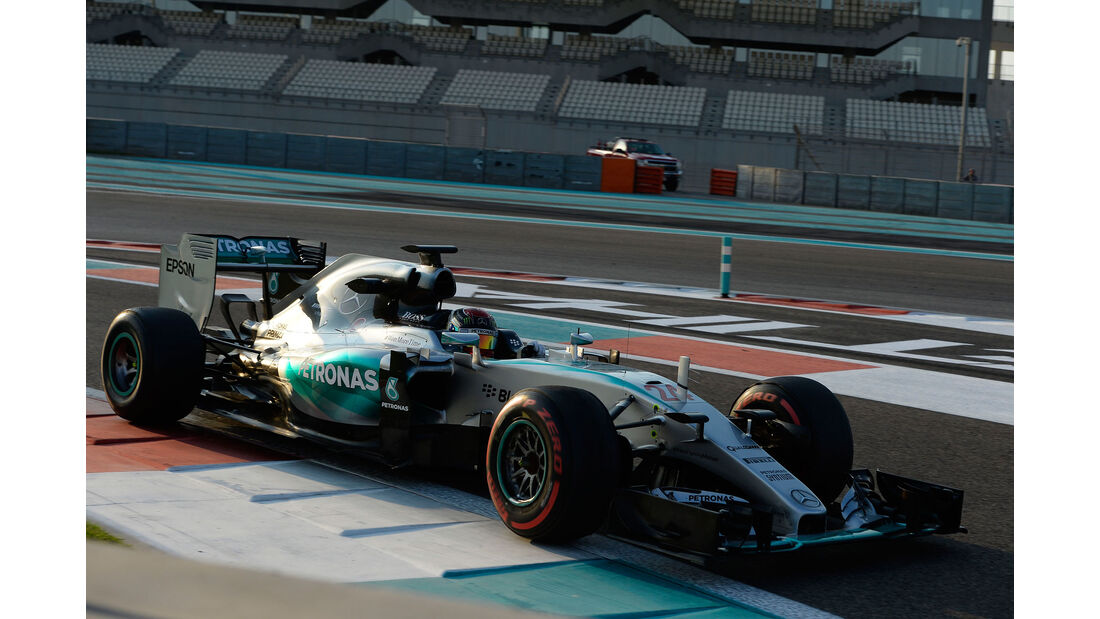 Pascal Wehrlein - Mercedes - F1 Test - Abu Dhabi - Dienstag - 1.12.2015
