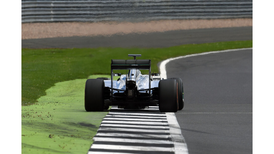 Pascal Wehrlein - Mercedes - F1-Test - Silverstone - 13. Juli 2016