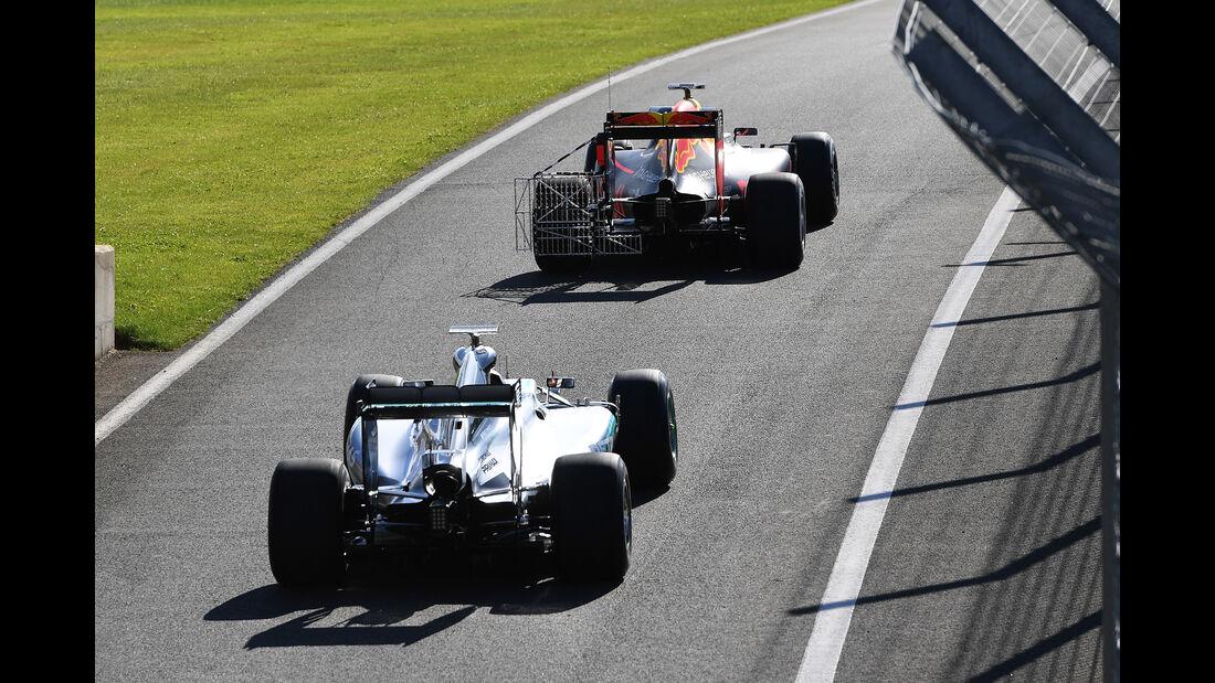 Pascal Wehrlein - Mercedes - Formel 1 - Silverstone-Test - 13. Juli 2016