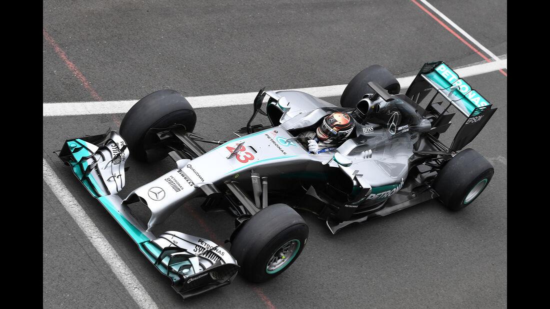 Pascal Wehrlein - Mercedes - Silverstone-Test - 12- Juli 2016