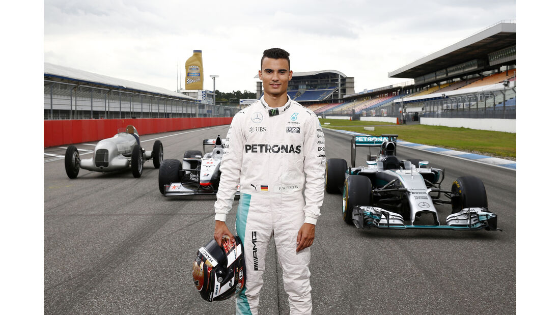 Pascal Wehrlein - Mercedes Track Day - Hockenheim - 28. Juni 2016