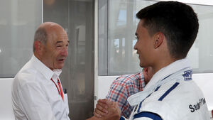 Pascal Wehrlein & Peter Sauber - GP Spanien 2017
