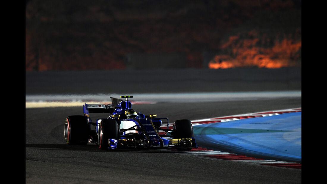Pascal Wehrlein - Sauber - Formel 1 - GP Bahrain - Sakhir - Training - Freitag - 14.4.2017